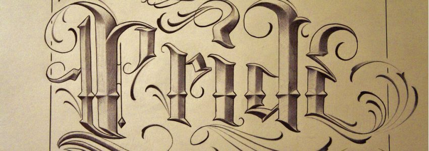 Lettering design calligraphy – Which ink to use?