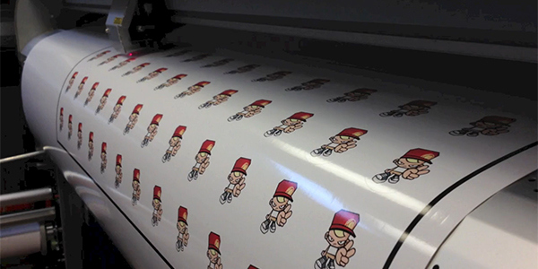 Sticker Printing: Advertising with sticker labels
