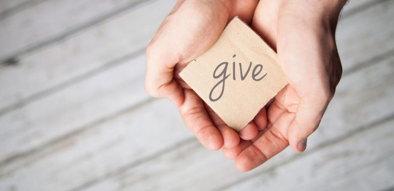Why small charities?