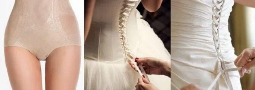 Waist Cincher under wedding dress are a Girl's Best Friend!