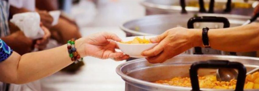 The importance of giving support to food charity